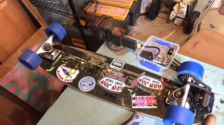 Making Electric Skateboard